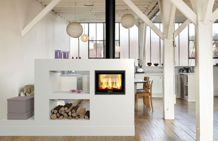 This outstanding, double-sided cassette wood burning fire combines big impact with compact dimensions. The firebox size and 5kW heat output is ideal for linking two smaller living spaces ensuring a fabulous and full flame picture from both sides of the fire. The stunning Zen 102 is made yet more attractive by its recessed combustion chamber …