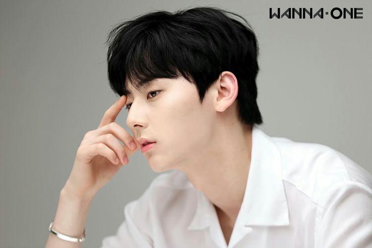 Wanna One Profile  Member (Behind) - Hwang Minhyun