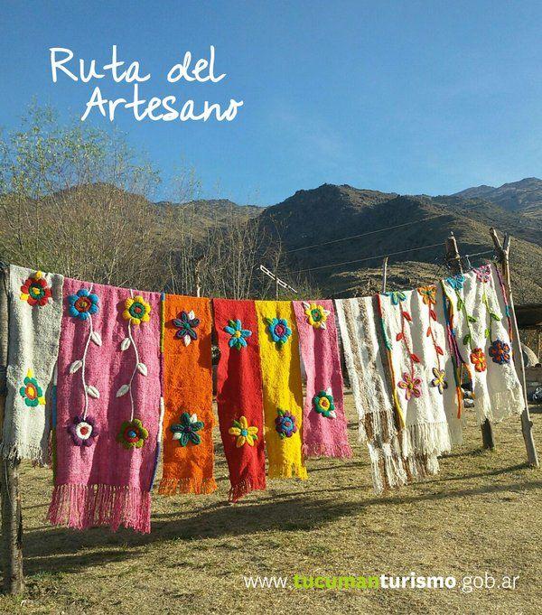 Disfrutar de un buen paisaje   con el adicional de una artesanía preciosa, te lo vas a perder? Tucumán tiene mucho para vos!  http://www.tucumanturismo.gob.ar/rutas-tematicas/230/ruta-del-artesano