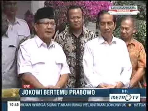 Pertemuan Jokowi Dengan Prabowo Subianto (17 Oktober 2014)