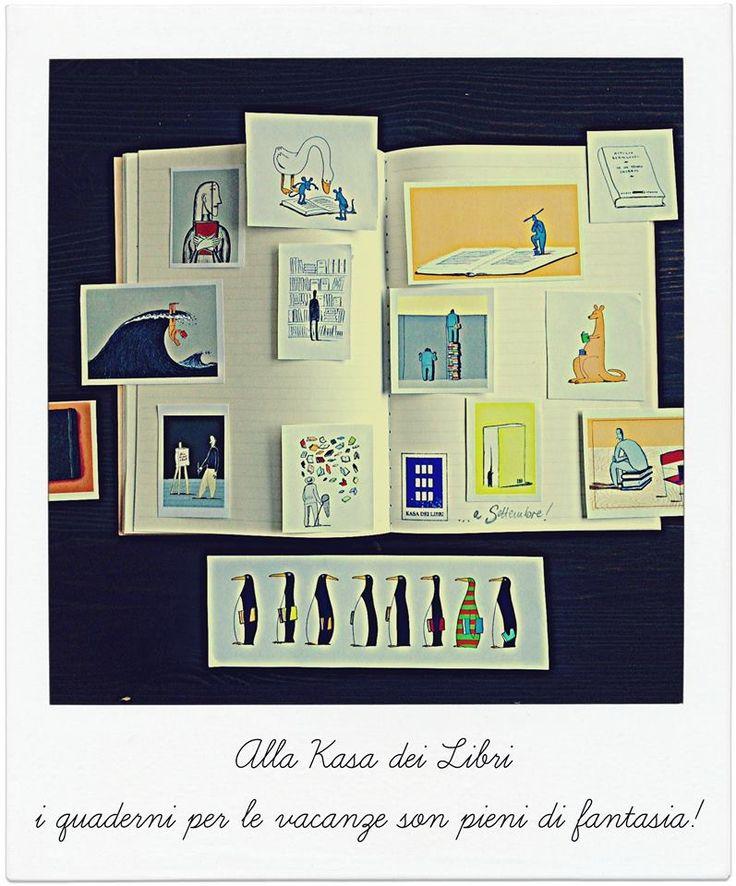 Quaderni di fantasia alla Kasa dei libri!