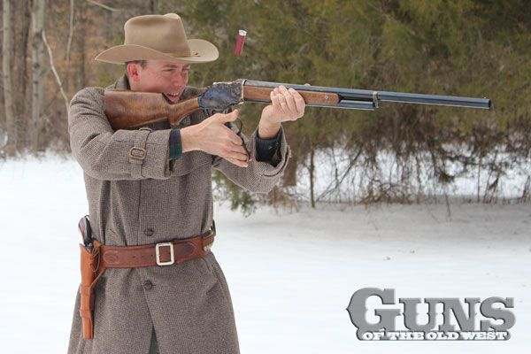 The Winchester Model 1887, John Moses Browning's almost forgotten classic of the Old West, is recreated by Chiappa!