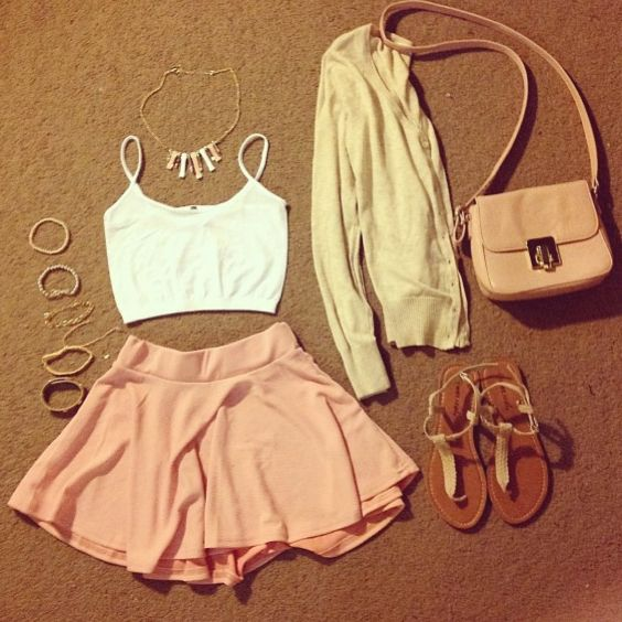 Girly summer outfit
