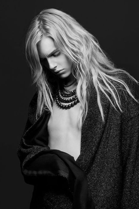 Photo. Model. Models. Androgyny. Cool. People. Indie. Pose. Style. Long Hair.