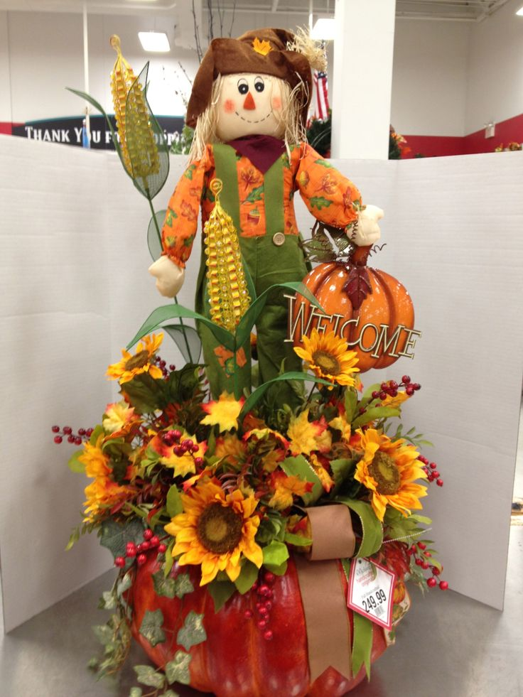 Fall Table Top Or Entryway Greeter  By Christian Rebollo