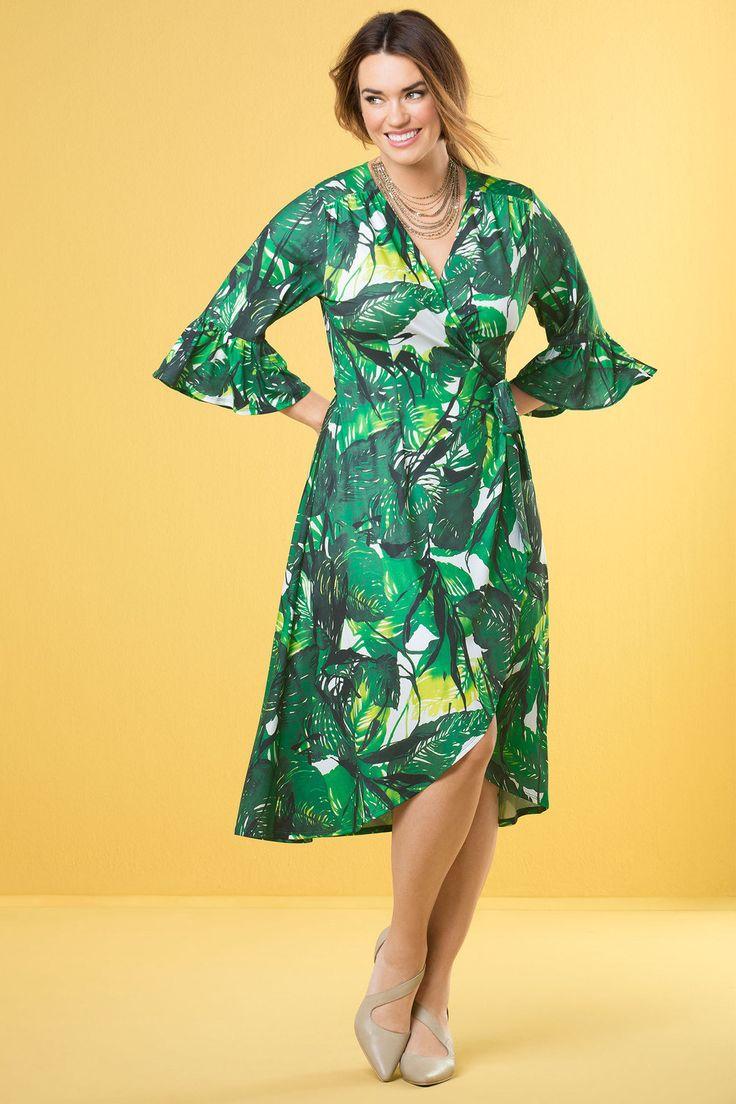 Sara Crossover Ruffle Dress Online | Shop EziBuy