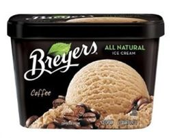 Caffeine in Breyers Coffee Ice Cream