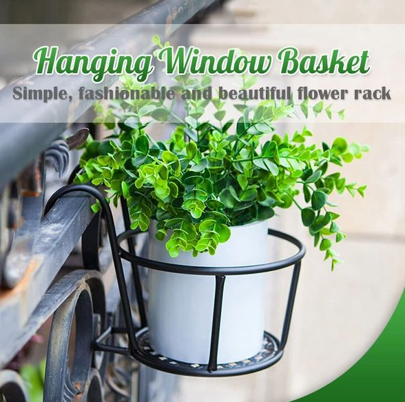 Get Yours>>58% OFF Today! Hanging Window Basket