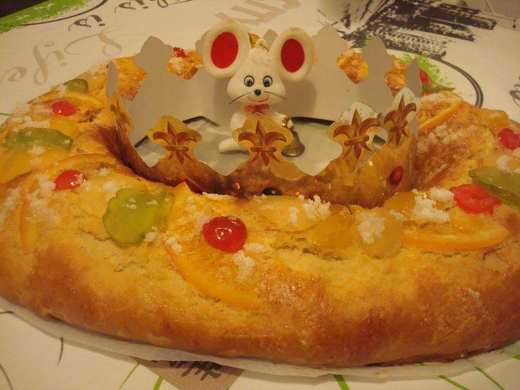 Como hacer Roscón de Reyes casero receta riquísimo #172- Ring-shaped Cak...