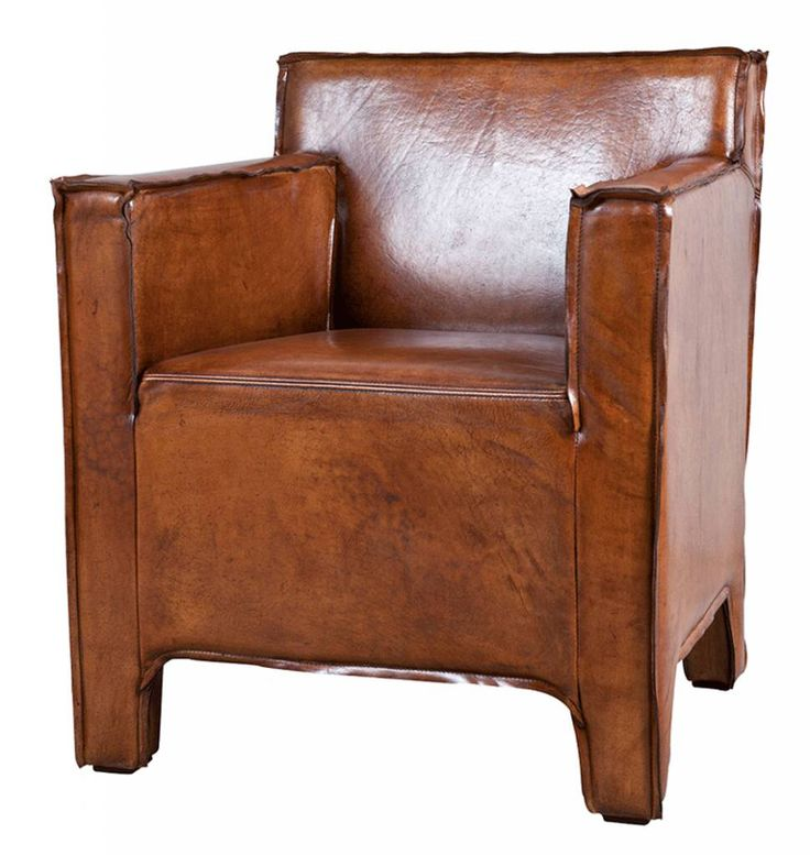 LIFESTYLE ASPEN DINING CHAIR W/ARMS LEATHER BROWN / SOFA