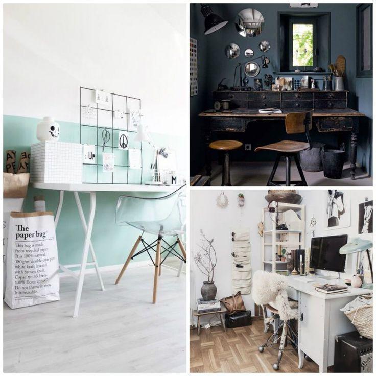Leef Uniek | Inspiratie | Kantoor *Geweldige ideeën voor jouw kantoorruimte*