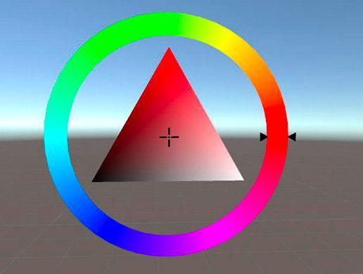 Color Picker Triangle | Color picker, Color, Unity games