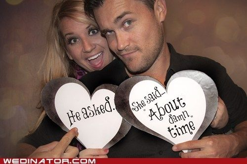 I think every one would agree for our engagement photo hahaha