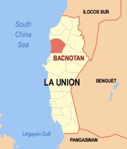 Location within La Union