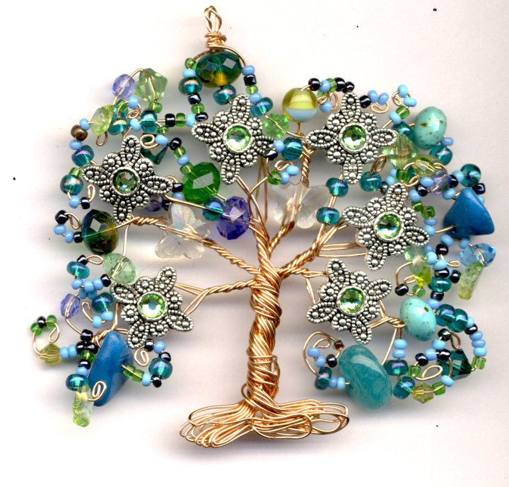 """I've seen many """"tree of life"""" variations, but this is the loveliest"""