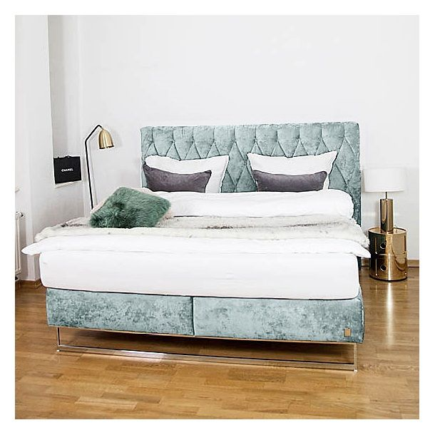 Joop Bett Stoffbezug Eisblau Ca 180 X 200 Cm 7 Zonen