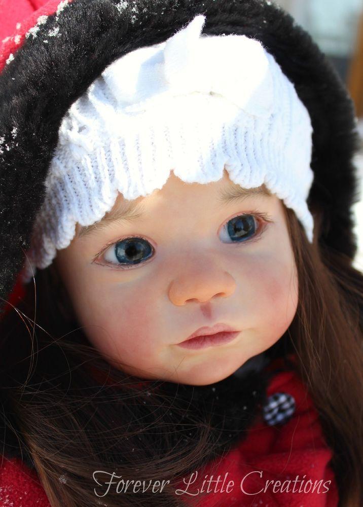 Reborn Doll Gabriela Toddler By Regina Swialkowski Katrin