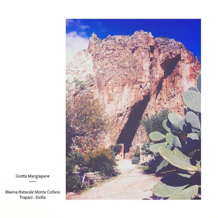#grottamangiapane #riservanaturale #montecofano #trapani #sicilia #visit #visitsicily #ig_sicily #igersicilia #italy #turist #travel #holiday #nature #aidaholidayhome_place