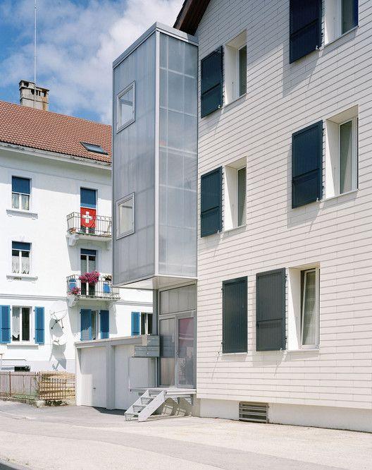 TSN Residential Extension Le Noirmont,© Joel Tettamanti