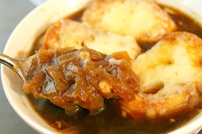 I've always wanted to make homemade french onion soup - just need to find someone to eat it with me.