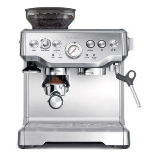 WHAT I WANT FOR XMAS!@Overstock.com - Breville BES870XL Barista Express Espresso Machine - The best way to grind you beans is with this Barista Express espresso machines. This is fully adjustable in grind size and dose so you can tweak to taste.  http://www.overstock.com/Home-Garden/Breville-BES870XL-Barista-Express-Espresso-Machine/8052264/product.html?CID=214117 $599.95
