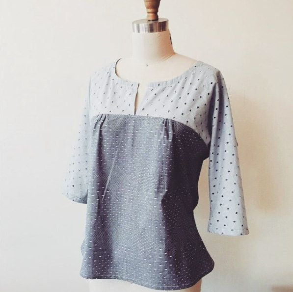 133 best Sew Tops images on Pinterest | Schnittmuster, Nähideen und ...