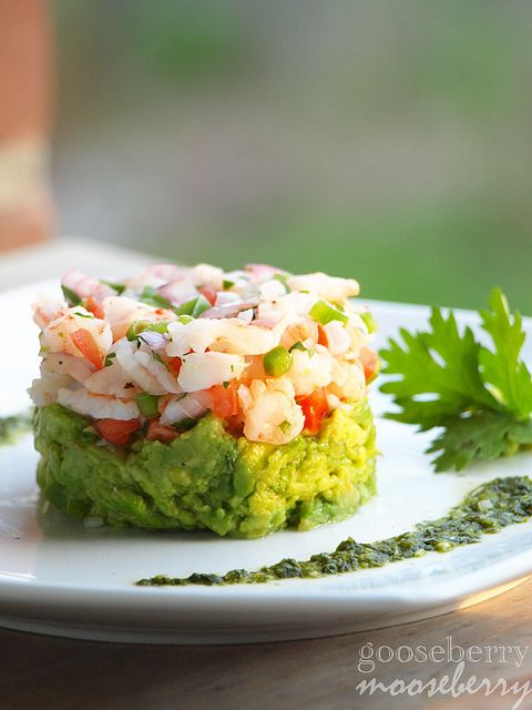 mexican shrimp Ceviche