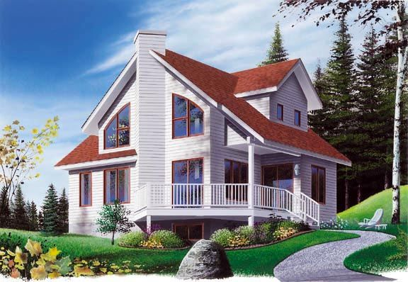 Contemporary country house plan 65173 Contemporary country house plans