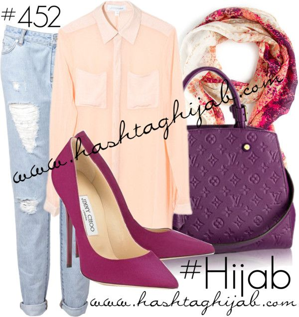 Hashtag Hijab Outfit the purple shoes and bag r EPIC !!!