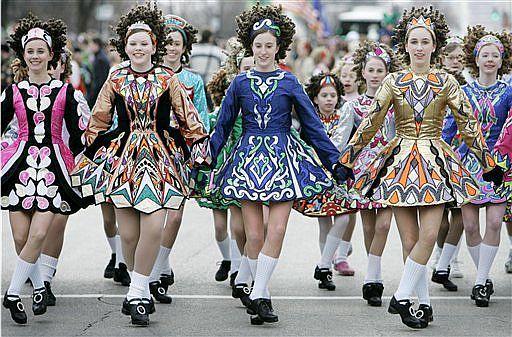 baile irlandés