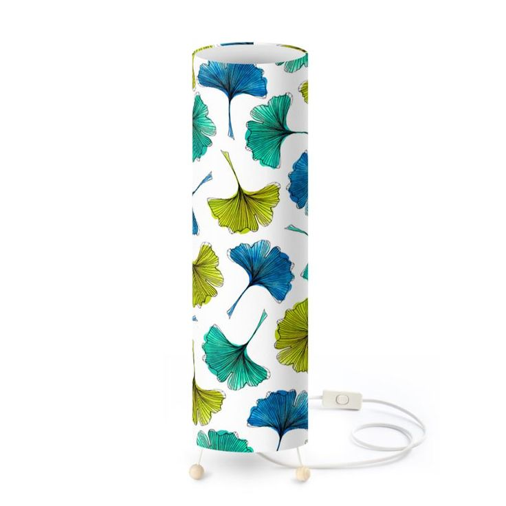 Ginkgo Flush Standing Lamp  #botanical #pattern #furniture #design #fashion #home #hometrends #lamp #lighting #gingko #leaves