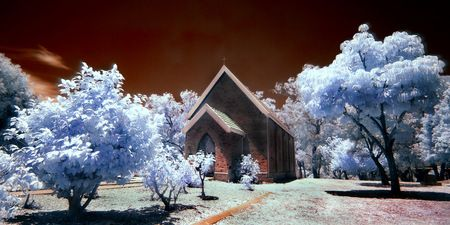 Interior Design and Home Decoration Artwork from Art Australia - buy this original signed print in 3 sizes. Old Church by David Rennie