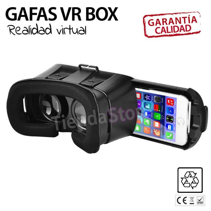 Gafas Realidad Virtual VR BOX#gafasrealidadvirtual #realidadvirtual #vrbox2.0 #vrbox #vidos3d #videos360