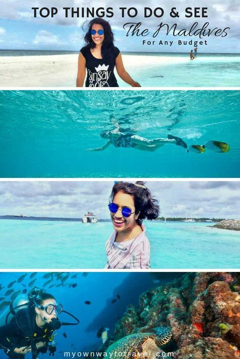 7 Top Things To Do & See In The Maldives - To explore the adventurous Maldives in any budget. https://myownwaytotravel.com/top-things-to-do-see-in-the-maldives/ #maldives #visitmaldives #travel #travelmaldives