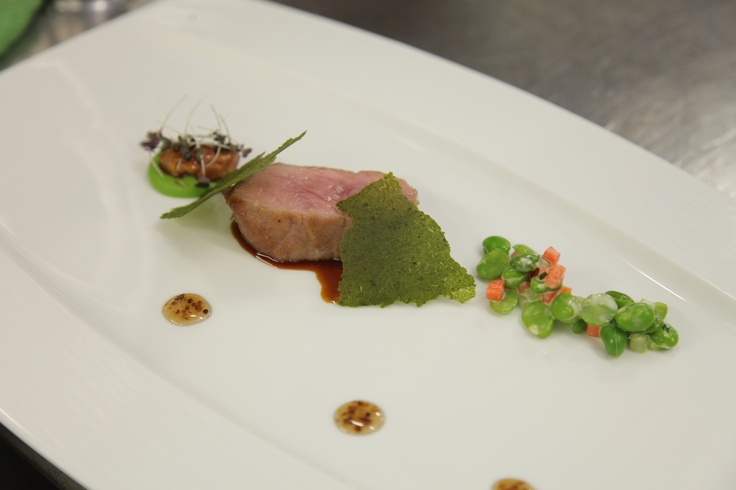 Milk-fed Veal, Sweetbread, Broad Beans and Mustard