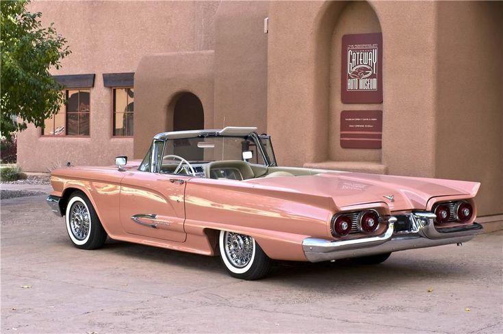 1959 FORD THUNDERBIRD CUSTOM CONVERTIBLE - Barrett-Jackson Auction Company - World's Greatest Collector Car Auctions #fordvintagecars
