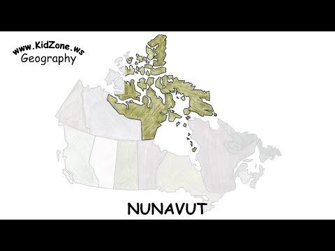 nunavut landscape facts