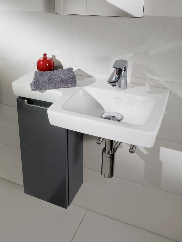 Villeroy Boch Subways 2 0 With Glossy Grey Furniture