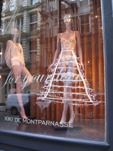 Kiki de Montparnasse - a R rated Xmas tree    Mannequin Madness has the right mannequin for you to show your holiday spirit!