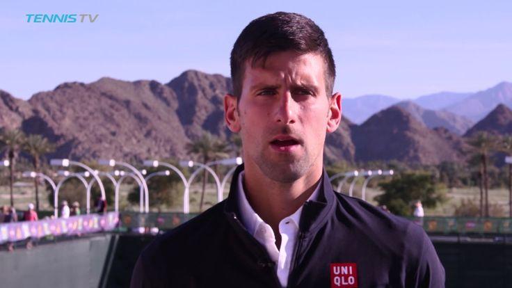 #atp #tennis #news  Novak On Canvas: Djokovic Immortalised In Indian Wells