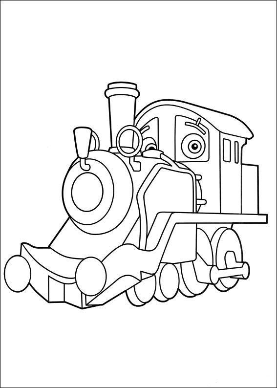 Chuggington 11 Dibujos Faciles Para Dibujar Para Ninos Colorear Malvorlagen Ausmalbilder Zum Ausdrucken Ausmalbilder