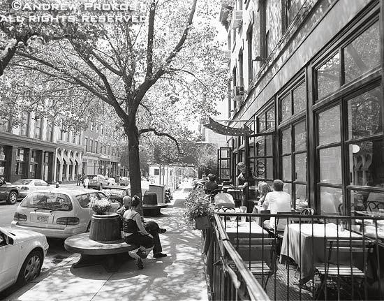 Tribeca: York Cafe, Cafe Patrones