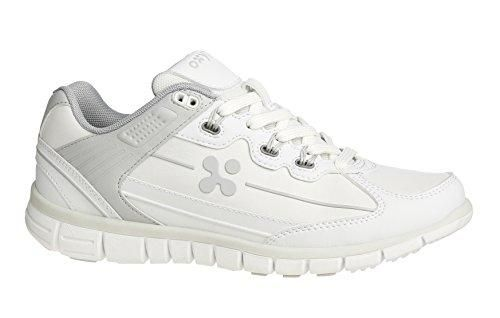 Oferta: 42.90€. Comprar Ofertas de Oxypas Sunny - zapatos de seguridad de otra piel mujer, color blanco, talla 38 barato. ¡Mira las ofertas!