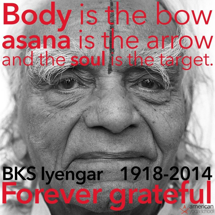 Today is his birthdate & Google is honoring him! He lived 97 years young <3! Words of insight & wisdom by the beloved BKS Iyengar