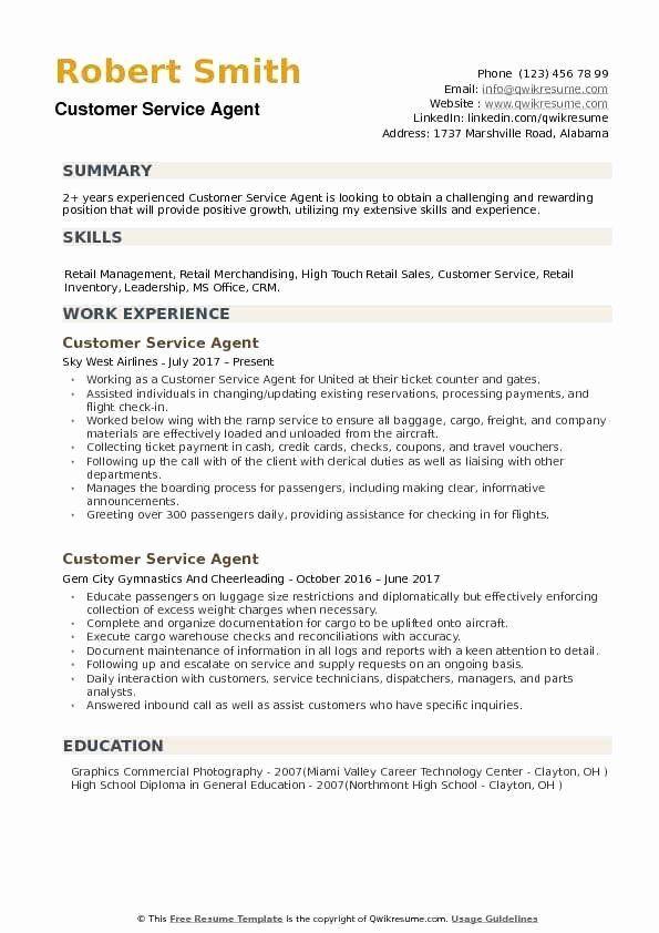 Ramp Agent Job Description Resume Fresh Customer Service Agent Resume Samples Nurse Job Description Cover Letter For Resume Driver Job