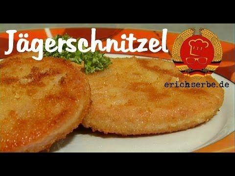 Jägerschnitzel (panierte Jagdwurst) - Essen in der DDR: Koch- und Backrezepte für ostdeutsche Gerichte | Erichs kulinarisches Erbe