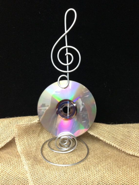 6  Music Note Treble Clef Card Holder or Wire Stand by AllegroArt, $60.00