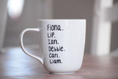 Fiona Lip Ian Debbie Carl Liam Shameless by PaintedCollections