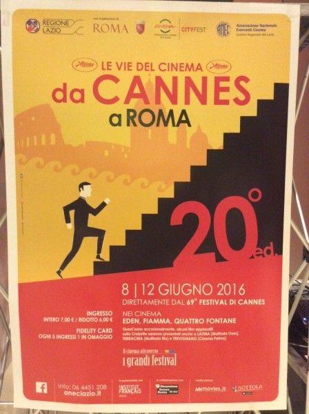 """Come ogni anno torna l'appuntamento con """"Le Vie del Cinema Da Cannes a Roma"""", rassegna cinematografica organizzata dall'Anec Lazio, che rientra nel più ampio progetto de """"Il Cinema attraverso i Grandi Festival"""". L'iniziativa organizzata da ANEC LAZIO..."""