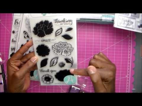 Hampton Art: Stamp Perfect Video + Layering Stamps - YouTube